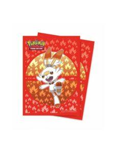 Fundas Pokémon Sword And Shield Galar: Scorbunny 66x91mm 65u