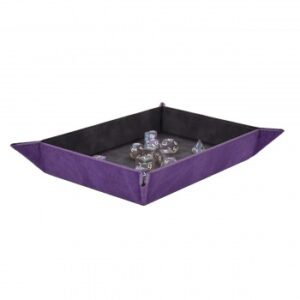 UP – Foldable Dice Rolling Tray – Amethyst