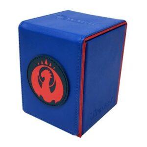 Ultra Pro: Caja De Mazo Alcove Flip Para Magic – Izzet