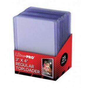 Ultra Pro: Toploader – 3″ X 4″ Clear Regular (25 Pieces)