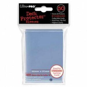 Ultra Pro: Fundas Premium Tamaño Estándar Transparentes 50u