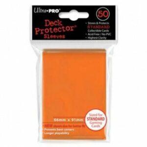 Ultra Pro: Fundas Tamaño Estándar Naranja (50u)