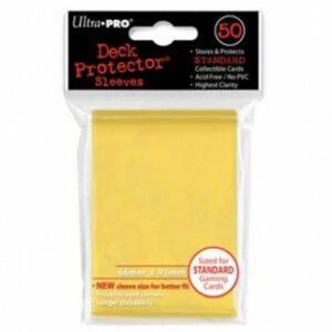 Ultra Pro: Fundas Tamaño Estándar Amarillo (50u)