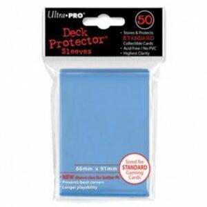Ultra Pro: Fundas Tamaño Estándar Azul Claro (50u)