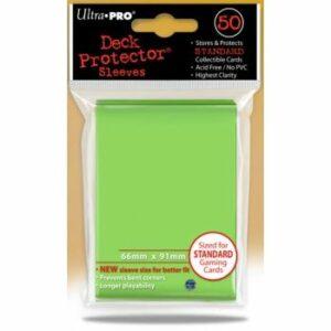 Ultra Pro: Fundas Tamaño Estándar Verde Lima (50u)