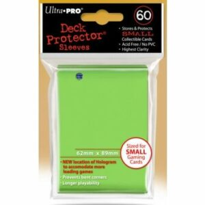 Ultra Pro: Small Sleeves – Lime Green (60 Sleeves)