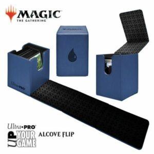Ultra Pro: Caja De Mazo Alcove Flip Box Island Azul