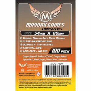 Mayday: Yucatan Narrow Card Game Sleeves 54×80 (100u)(7109)