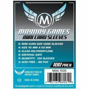 Mayday: 45×68 Mm Mini Euro Card Sleeves (100) (7035)