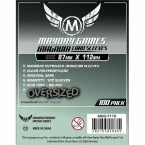 Mayday: Magnum Oversized Dungeon Sleeves 87×112 (100u)(7116)