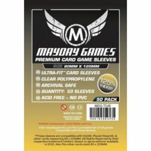 Mayday: Premium 80×120 Mm Dixit Card Sleeves (50) (7146)