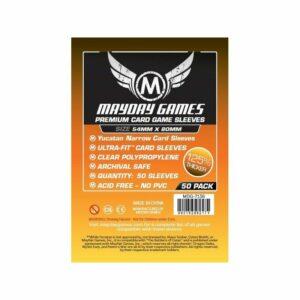 Mayday: Yucatan Narrow Card Game Sleeves 54×80 (50u) (7136)