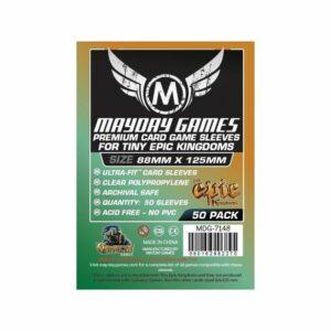 Mayday: Tiny Epic Kingdoms Sleeves 88×125 (50u) (7148)
