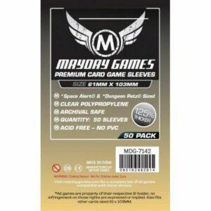 Mayday: Premium Space Card Sleeve 61×103 (50u) (7142)