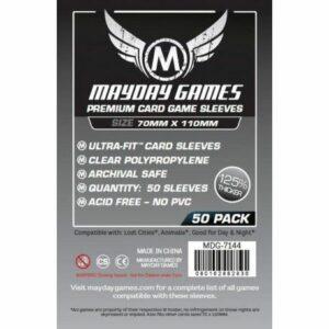 Mayday: Premium Magnum Silver Sleeve 70×110 (50u) (7144)