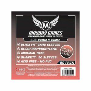 Mayday: Premium Medium Square Card Sleeves 80×80 (50u)(7145)