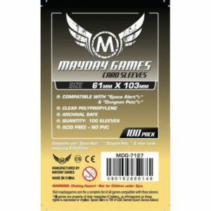 Mayday: Magnum Space Card Sleeve 61×103 (100u) (7127)