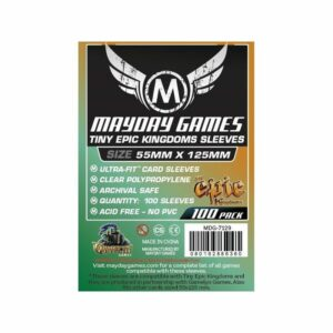Mayday:Custom Tiny Epic Kingdoms Sleeves 88×125 (100u)(7129)