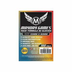 Mayday: Race! Formula 90 Card Sleeves 55×80 (100u) (7132)