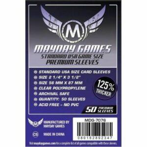Mayday: Premium 56×87 Standard USA Card Sleeves (50u) (7076)