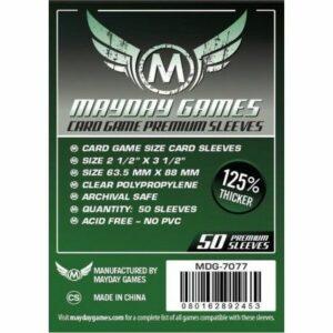 Mayday: Premium 63.5×88 Card Game Card Sleeves (50) (7077)