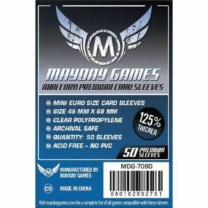 Mayday: Premium 45×68 Mm Mini Euro Card Sleeves (50) (7080)