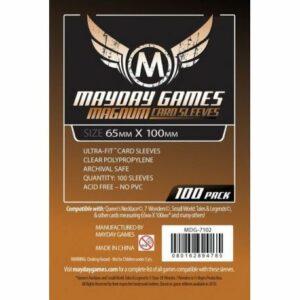 Mayday: 65×100 Mm Card Sleeves (100) (7102)