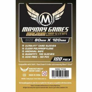 Mayday: 80×120 Mm Dixit Card Sleeves (100) (7104)