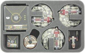 HSEK035BO Foam X-WING 3x Punishing One, Ships & Accessories