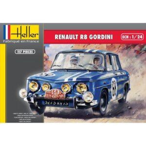 1:24 Heller: Renault R8 Gordini