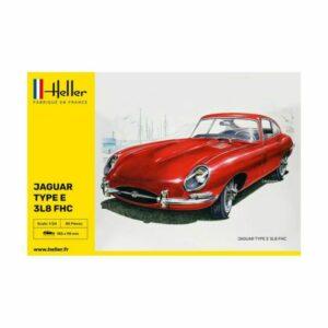 1/24 – Heller – Jaguar Type E 3L8 FCH – 80709