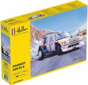 1:24 Heller: Peugeot 205 Evo 2 Turbo 16