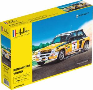 1:24 Heller: Renault R5 Turbo