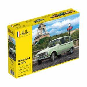1:24 Heller:  Renault 4L TL/GTL