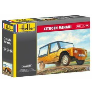 1:24 Heller: Citroën Mehari