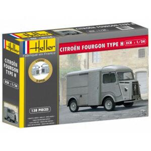 1:24 Heller:  Citroën Fourgon HY