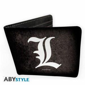 """DEATH NOTE – Wallet """"L Symbol"""" – Vinyle"""