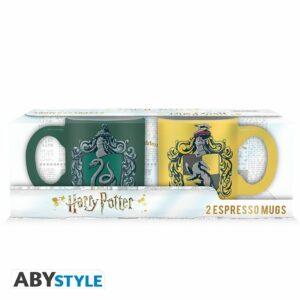 HP – Set 2 Tazas Expresso – 110 Ml – Slyth. & Huffle