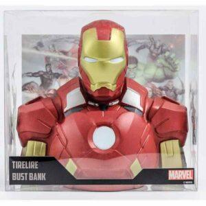 Busto Hucha Iron Man Marvel 22 Cm Deluxe