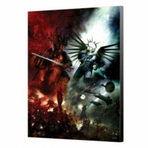 Guilliman VS Abaddon – Panel De Madera – Warhammer 40K