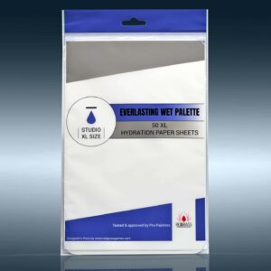 Hydration Paper For Studio XL – 50 Recambios Paleta Humeda