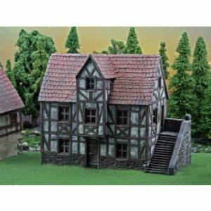 Ziterdes: Guesthouse 4.33″ X 3.94″ X 6,70″ (6012003)