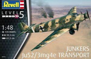 1:48 Revell 03918 Junkers Ju52/3mg4e Transport