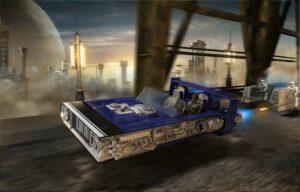 1:28 Revell 06769 Build & Play Han's Speeder