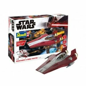 1:44 Revell 06770 Star Wars – Resistance A-wing Fighter, Red