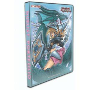 Yugioh: Dark Mgc Girl The Dragon Knight-9 P Duelist Porfolio