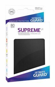 Ultimate Guard: Fundas Supreme UX Color Negro (80 Unidades)