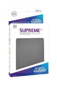 Ultimate Guard Supreme UX Sleeves: Gris Oscuro  (80u)