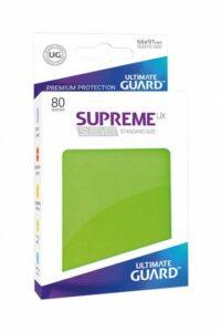 Ultimate Guard Supreme UX Sleeves: Verde Claro (66×91)