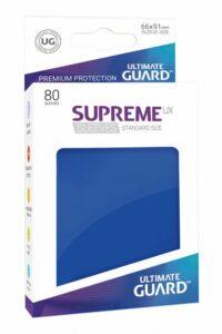 Ultimate Guard: Fundas Supreme UX Color Azul (80 Unidades)